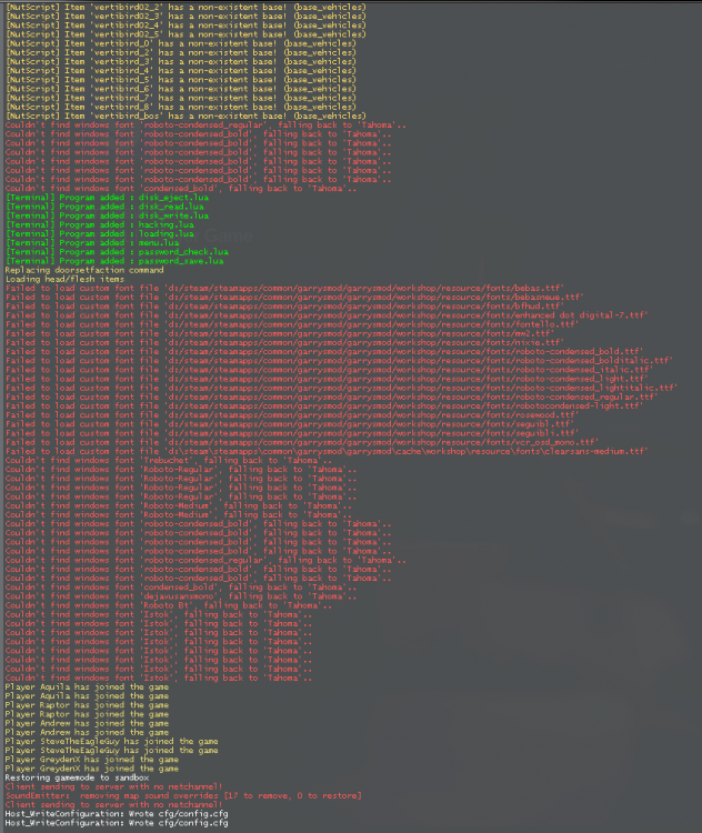 Perpetually Stuck In Starting Lua